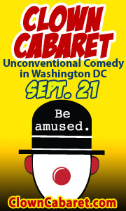 Clown Cabaret September 8, 2014 at the Shop at Fort Fringe!